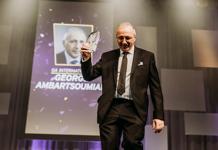 CEO of GA International winning EY award