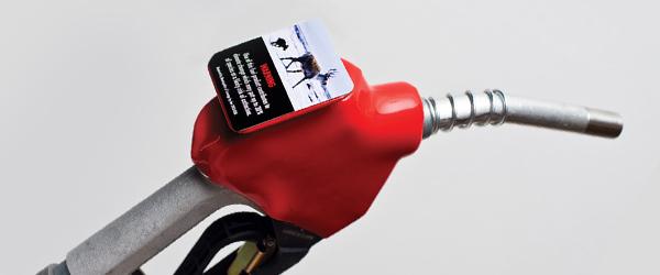 Gas Pump Label