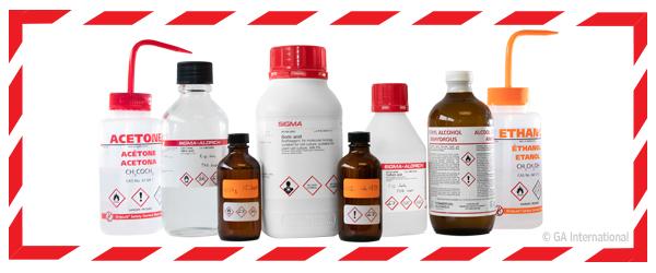 Hazardous Chemical - GHS Label