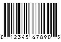 UPC barcode example by ga-international.com