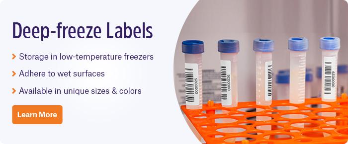 Deep-Freeze Labels