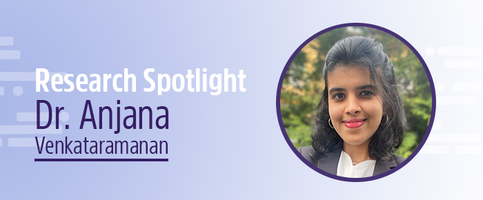Dr. Anjana Venkataramanan